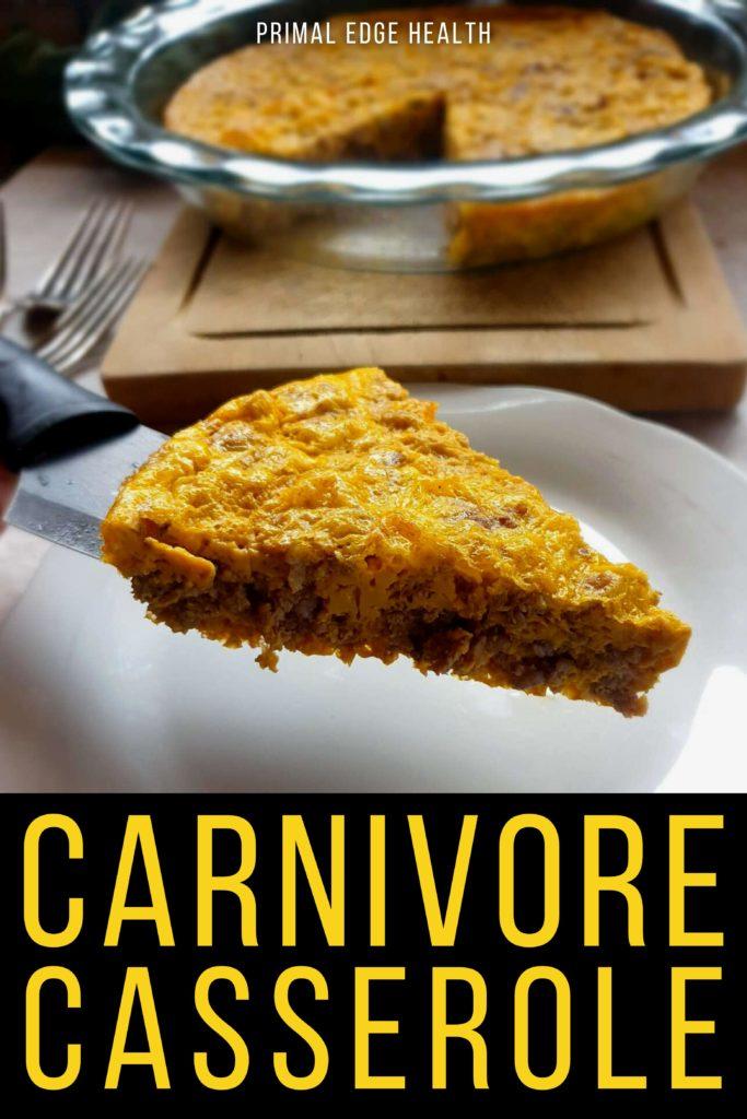 Easy Carnivore Casserole