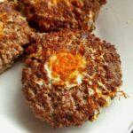 Carnivore Egg-in-a-Hole (Zero Carb Breakfast Idea)