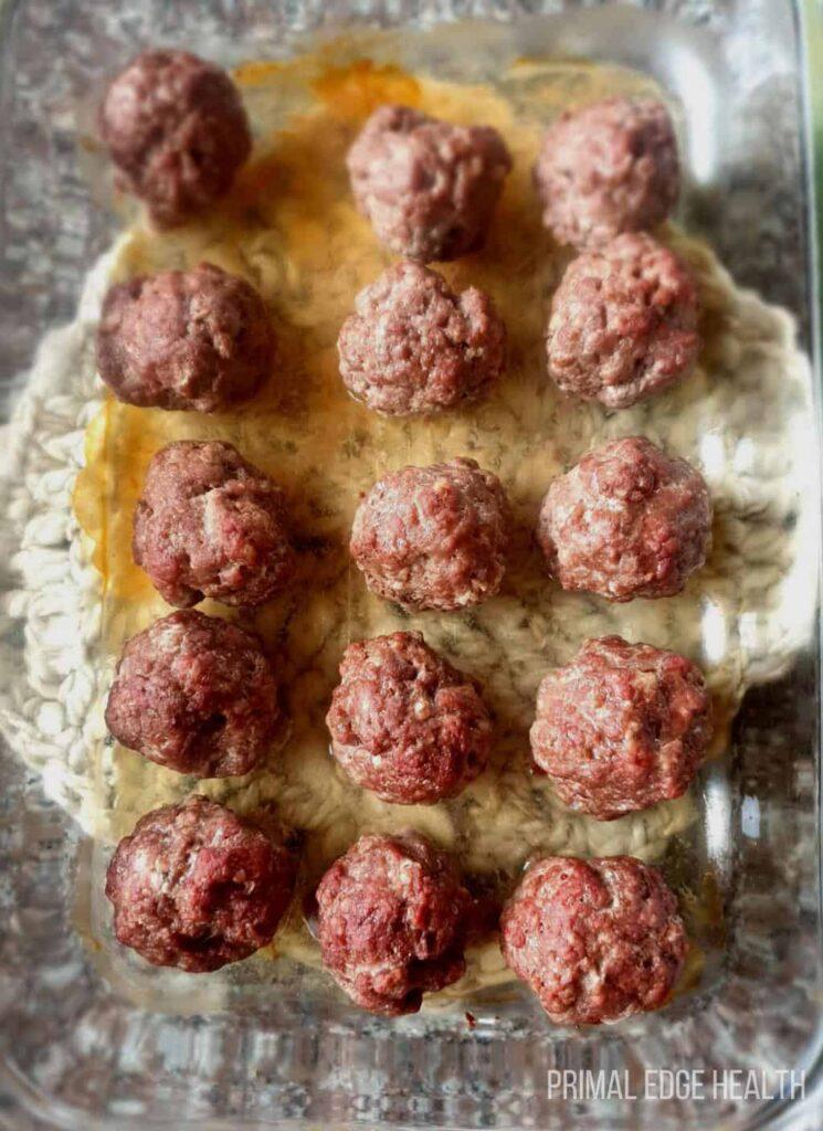 carnivore diet meatballs