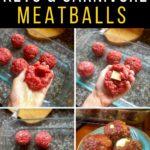 carnivore mozzarella stuffed Meatballs