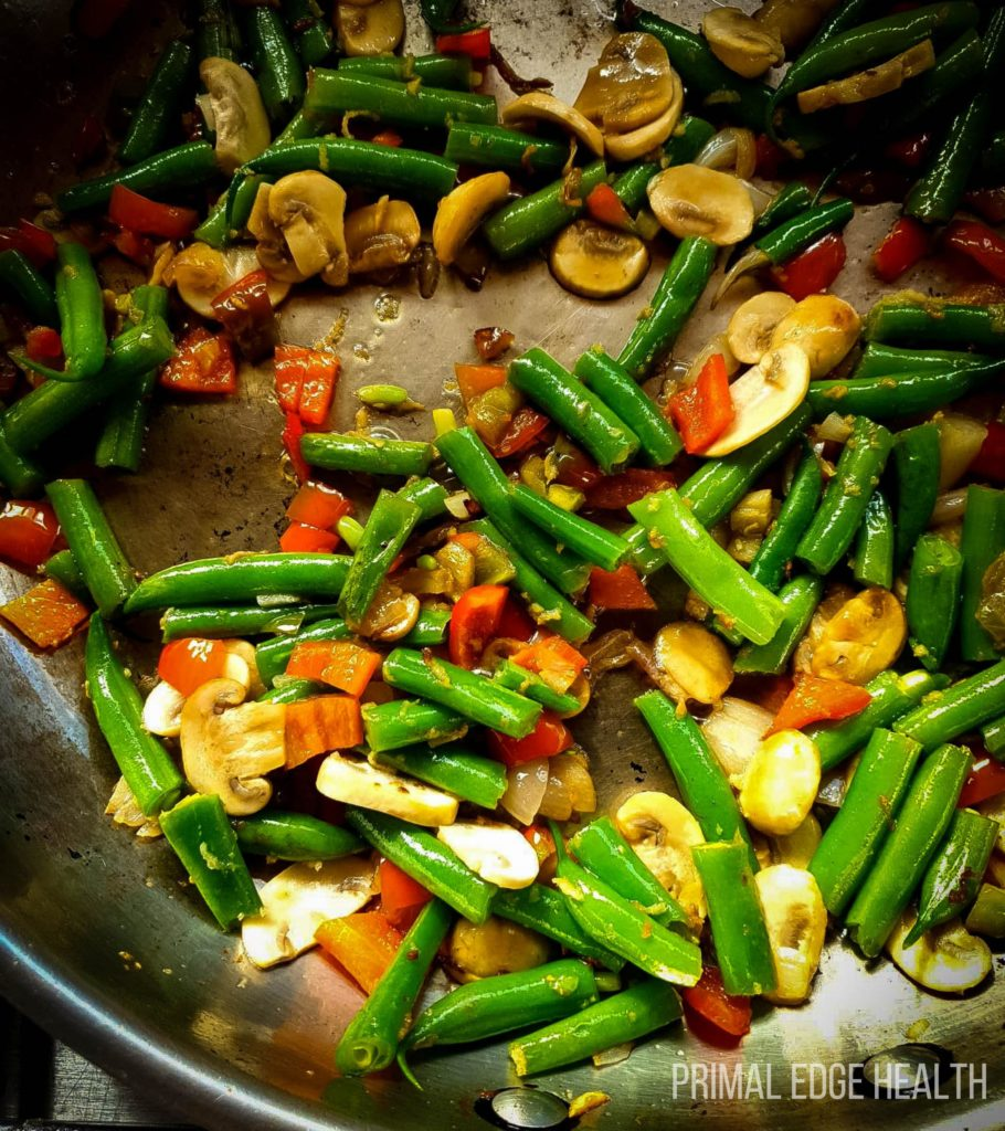 one pan low carb dinner meal