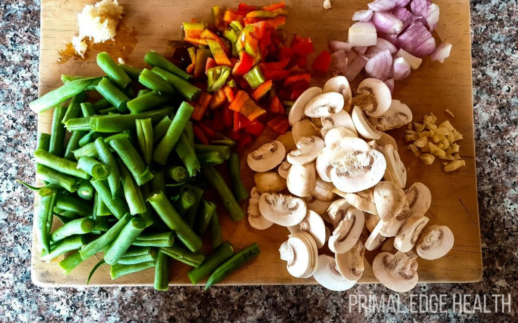 healthy stir fry ingredients