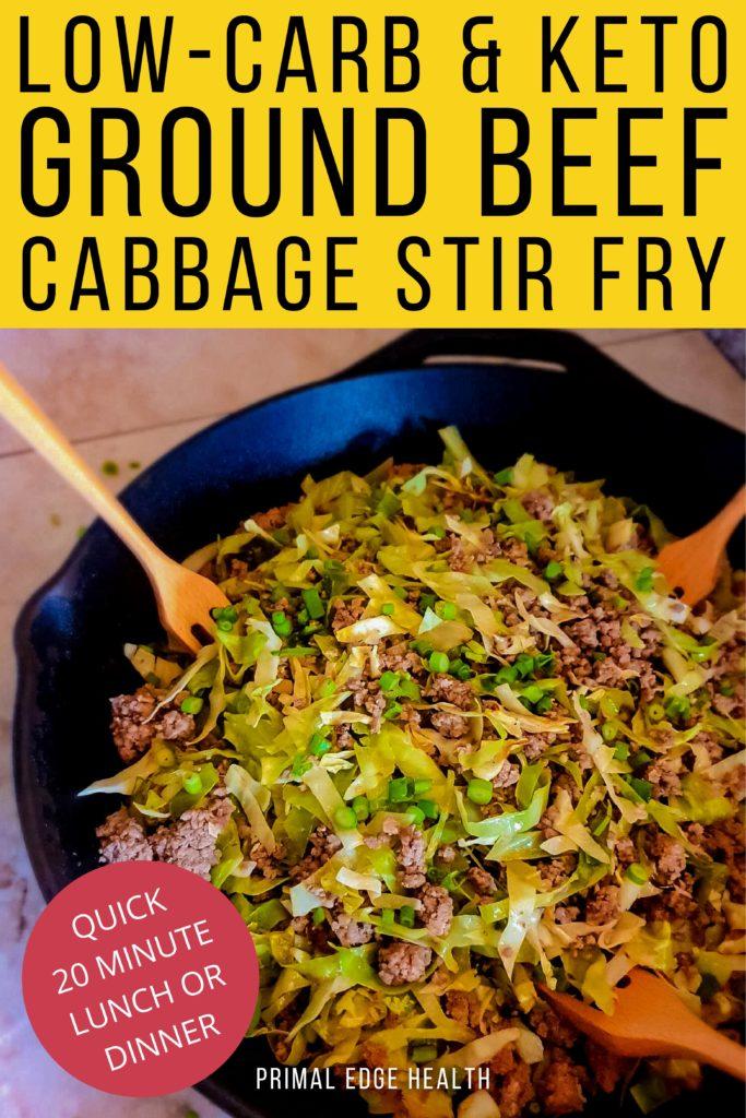 beef cabbage stir fry recipe