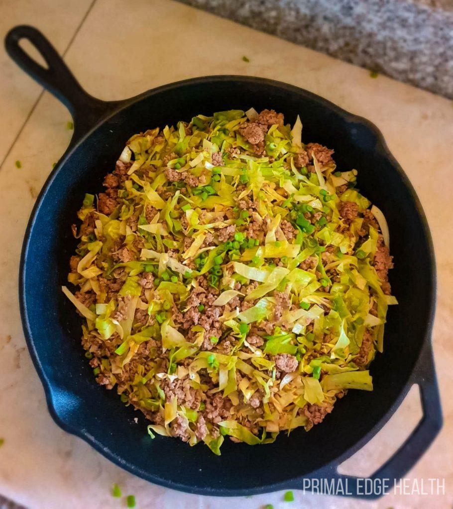 easy keto stir fry dinner recipe