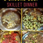 Low Carb Vegetable Ground Beef Skillet Dinner