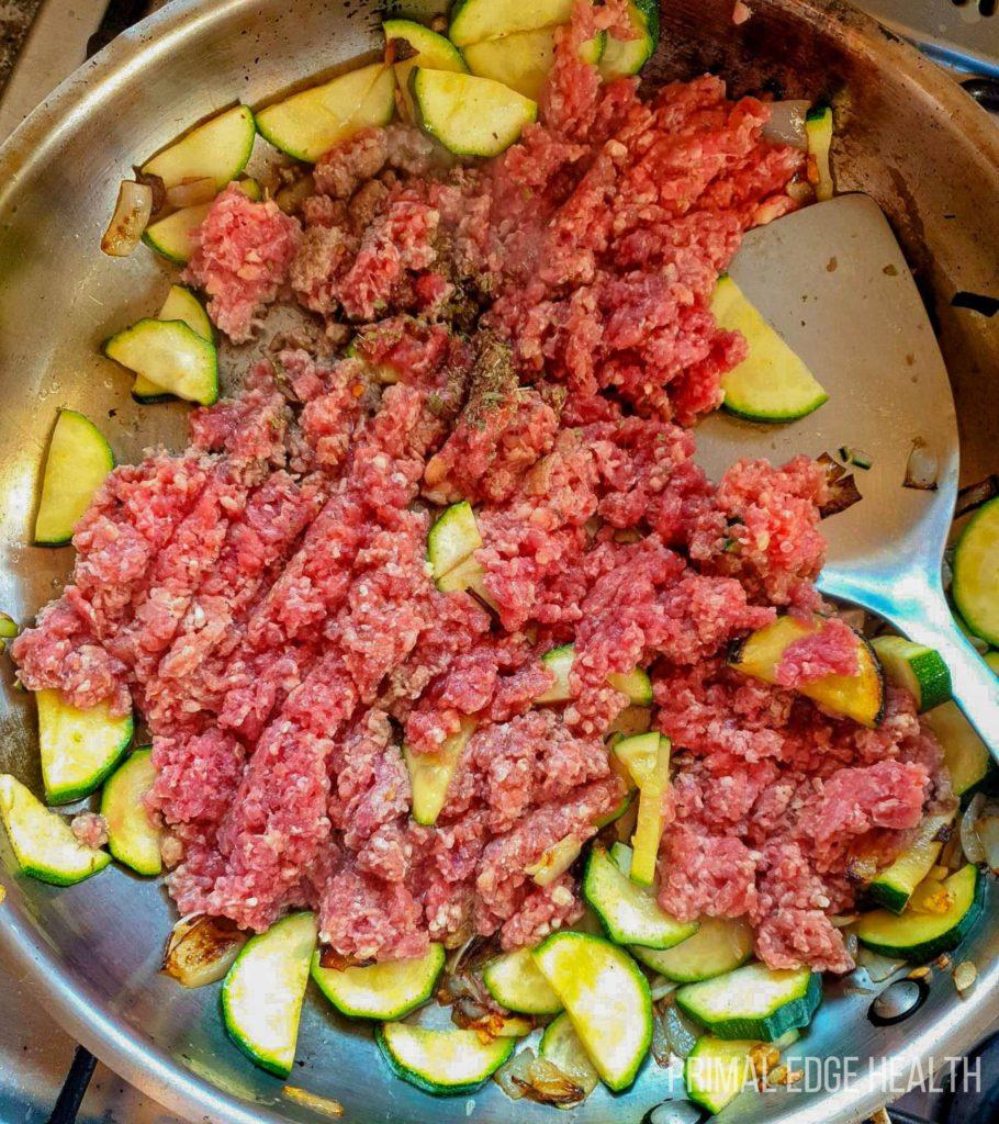 Ground beef skillet