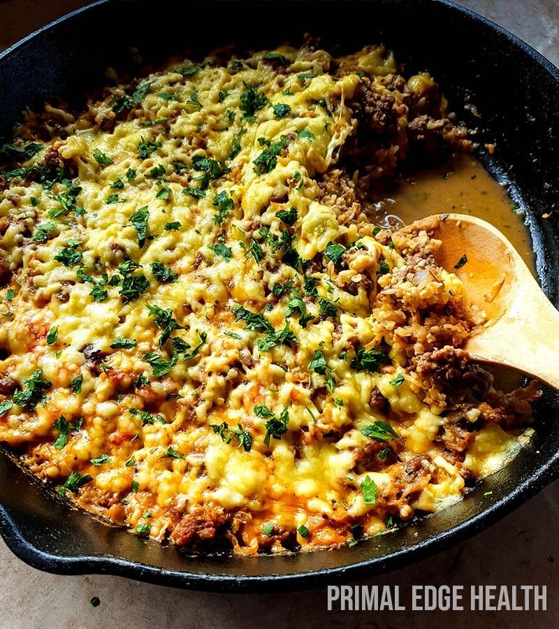 easy keto skillet dinner recipe