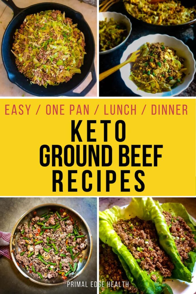 low carb ground beef recipes PIN