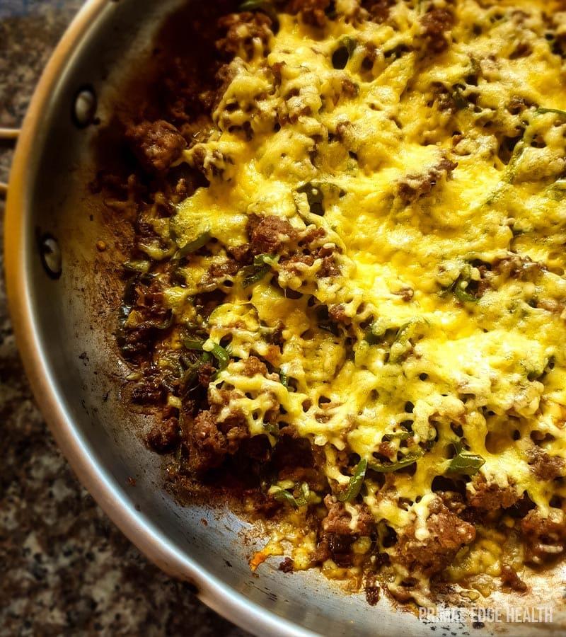 quick one pan keto dinner