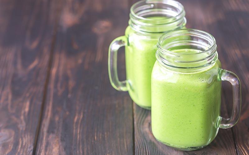 green smoothies on keto