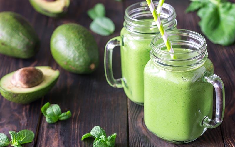 low carb green smoothie keto