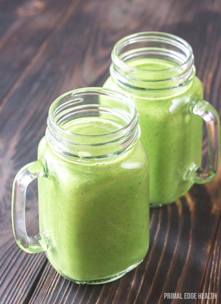 keto friendly green smoothie