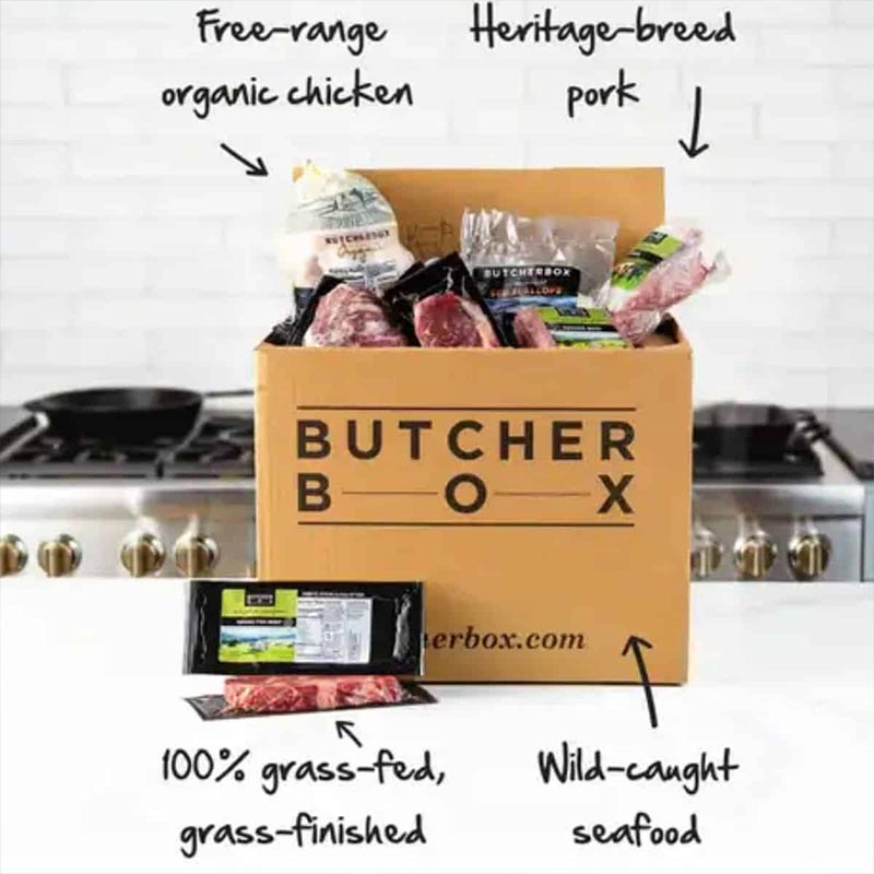 Review butcher box subscription box