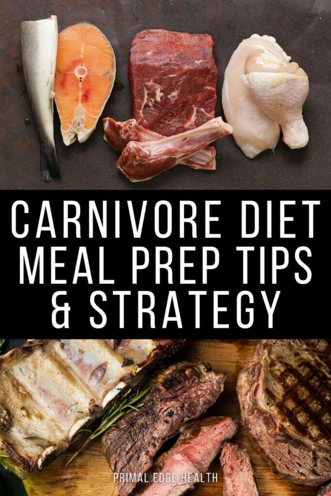 meal prep carnivore diet ideas